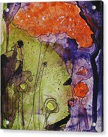 Hidden Forest Acrylic Print by Christy Sobolewski