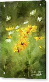 Acrylic Print featuring the digital art Hidden Gems by Lois Bryan