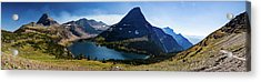 Acrylic Print featuring the photograph Hidden Lake Panorama At Glacier National Park by Lon Dittrick