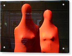 Hidden Nipples Acrylic Print by Jez C Self