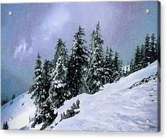 Hidden Peak Acrylic Print