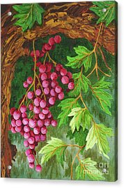 Acrylic Print featuring the painting Hidden Treasure by Katherine Young-Beck
