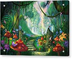 Hidden Treasure Acrylic Print