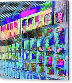 Acrylic Print featuring the digital art Hide And Seek by Wendy J St Christopher
