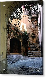 Hide Away Acrylic Print by Dennis Curry