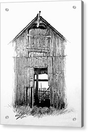 Hide Out Acrylic Print