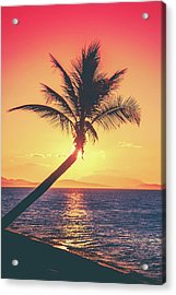 Hideaway Bay Sunset Acrylic Print