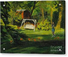 Hiedi's Swing Acrylic Print