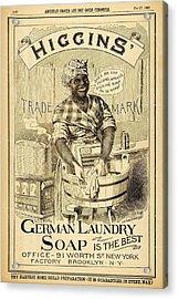 Higgins German Laundry Soap Acrylic Print