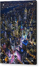 High Above The City Acrylic Print