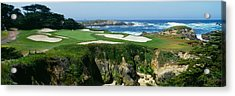 High Angle View Of A Golf Course Acrylic Print by Panoramic Images