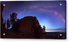 Acrylic Print featuring the photograph High Desert Dawn by Leland D Howard