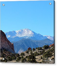 High Desert Winter Acrylic Print