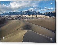 High Dune - Great Sand Dunes National Park Acrylic Print by Aaron Spong