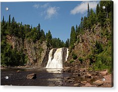 High Falls At Tettegouche State Park Acrylic Print