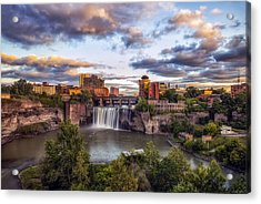 High Falls Rochester Acrylic Print