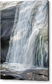 Acrylic Print featuring the photograph High Falls Three by Steven Richardson