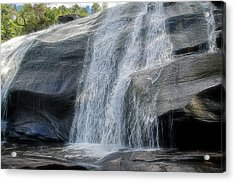 Acrylic Print featuring the photograph High Falls Two by Steven Richardson