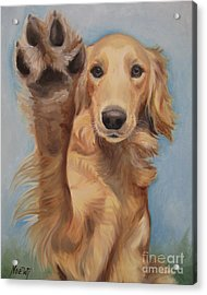High Five Acrylic Print