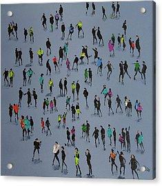 High Fives Acrylic Print by Neil McBride