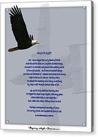 High Flight Acrylic Print