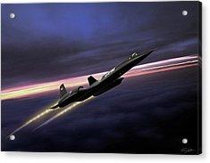 High Flight Acrylic Print by Peter Chilelli