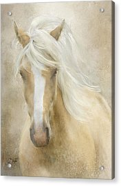 Acrylic Print featuring the painting Spun Sugar by Colleen Taylor