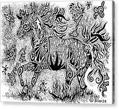 High Horse Acrylic Print