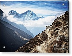 High In The Himalayas Acrylic Print