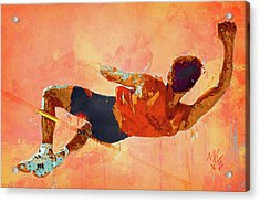 High Jumper Acrylic Print