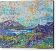High Lake Acrylic Print
