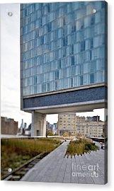 High Line Park And Hotel Acrylic Print by Eddy Joaquim