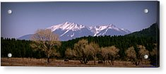 High Peaks Of Arizona Acrylic Print