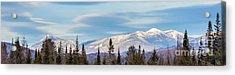 High Peaks Acrylic Print