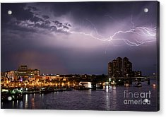 High Point Place Nights Acrylic Print by Quinn Sedam