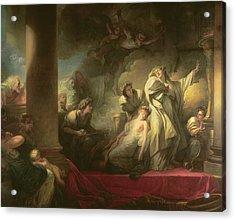High Priest Coresus Sacrificing Himself To Save Callirhoe Acrylic Print