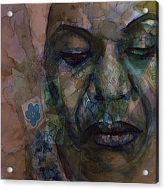 High Priestess Of Soul  Acrylic Print by Paul Lovering