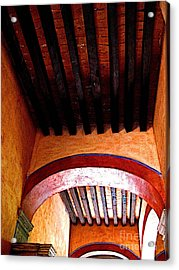 High Rafters Acrylic Print by Mexicolors Art Photography