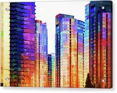 High Rise Abstract Acrylic Print
