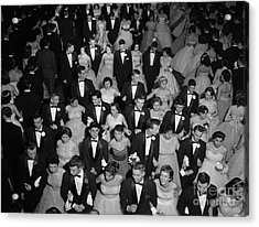 High School Prom, C.1950s Acrylic Print by H. Armstrong Roberts/ClassicStock