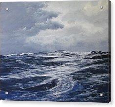 High Seas  Acrylic Print by Dj Khamis