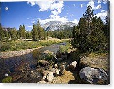 High Sierras Stream Acrylic Print