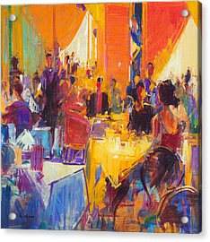 High Society Acrylic Print by Peter Graham