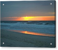High Sunrise Acrylic Print by  Newwwman