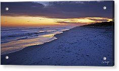 High Tide In Fading Light Acrylic Print