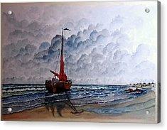 High Tide2 Sold Acrylic Print by Richard Benson