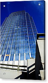 High Up To The Sky Acrylic Print by Susanne Van Hulst