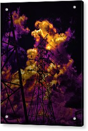 High Voltage Acrylic Print