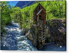 High Waters At The Mill  Acrylic Print