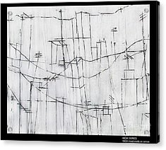 High Wires Acrylic Print by Pamela Canzano